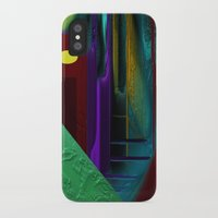 street iPhone & iPod Cases featuring Street by Turul