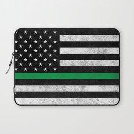 Thin Green Line Laptop Sleeve