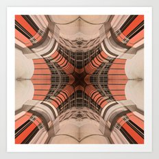 Building Abstraction II Art Print
