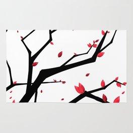Cherry Blossom Geometric Rug