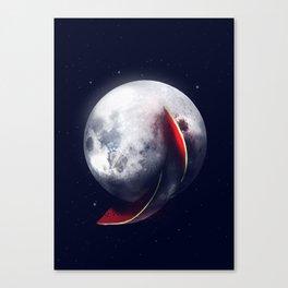 Watermelmoon Canvas Print