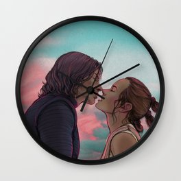 Reylo 'in love' Wall Clock