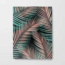 Palm Leaves - Cali Vibes #2 #tropical #decor #art #society6 Metal Print
