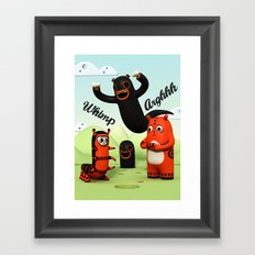 Sniff and Boo Framed Art Print
