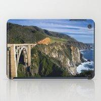 big sur iPad Cases featuring Big Sur by Brie Anne Demkiw