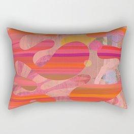 Coral Mystery Rectangular Pillow
