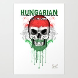 To The Core Collection: Hungary Art Print