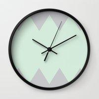 teeth Wall Clocks featuring Teeth by dani