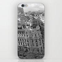 madrid iPhone & iPod Skins featuring Madrid by Cristina Serrano