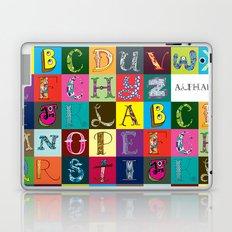 Hand Drawn Alphabet Laptop & iPad Skin