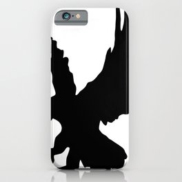 Eagle Silhouette iPhone Case