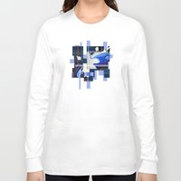 abyss Long Sleeve T-shirts featuring The Abyss  by Andrew Sliwinski
