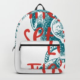 Let The Sea Set You Free #2 Backpack