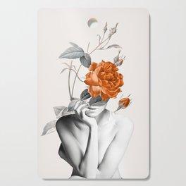 Rose 3 Cutting Board