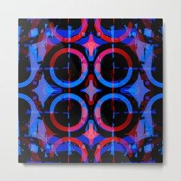 Blue Steeples Metal Print