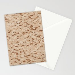 Camouflage: Arid Desert IV Stationery Cards