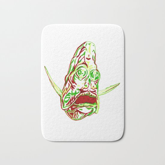 Deep Sea Hatchetfish Bath Mat