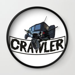 Offroad Scale rc cars a Crawling rock crawler car Edit Wall Clock