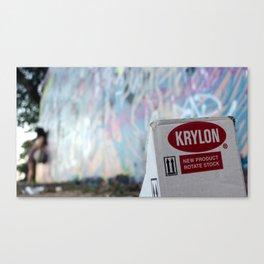 Krylon Canvas Print