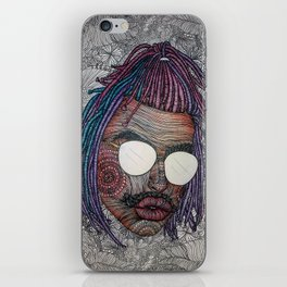 Androgynous iPhone Skin