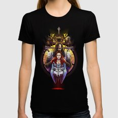 The Blood Maiden Womens Fitted Tee Black MEDIUM
