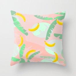 Rumba Banana Throw Pillow