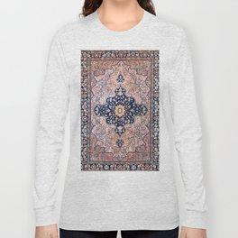 Sarouk  Antique West Persian Rug Print Long Sleeve T-shirt