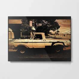 Jesse's Truck Metal Print