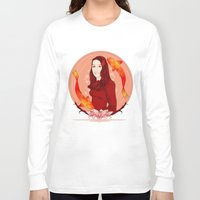pisces Long Sleeve T-shirts featuring Pisces by Vanesa Abati