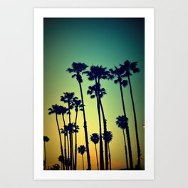 Ocean Blvd Cruisin Art Print