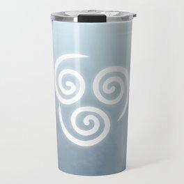 Avatar Air Bending Element Symbol Travel Mug