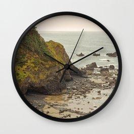 Ecola Point, Oregon Coast, hiking, adventure photography, Northwest Landscape Wall Clock