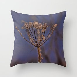 Winters Snowslip Throw Pillow