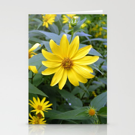 Woodland Sunflowers Stationery Cards