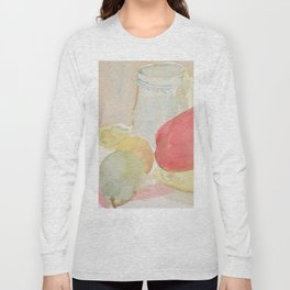Still Life with Fruit and Crockery Long Sleeve T-shirt