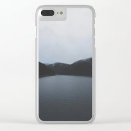 Belis lake / travel & adventure Clear iPhone Case