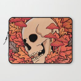 The skull of autumn Laptop Sleeve