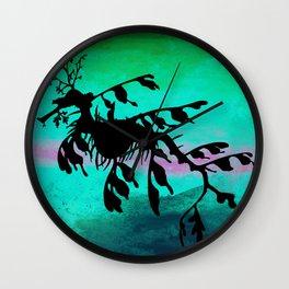 Leafy Sea Dragon Wall Clock