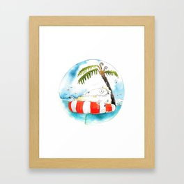 Sheepisland Framed Art Print