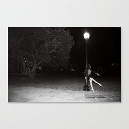 Moonlight ballet Canvas Print
