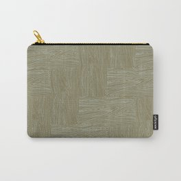Woodgrain Carry-All Pouch