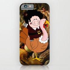 Thanksgiving turkeys iPhone 6s Slim Case