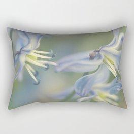 Fleur Bleue Rectangular Pillow
