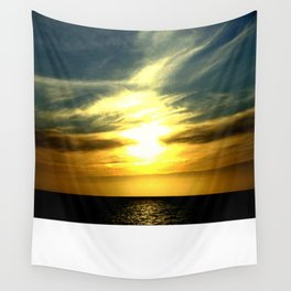 Sunrise over Bass Strait - Tasmania Wall Tapestry