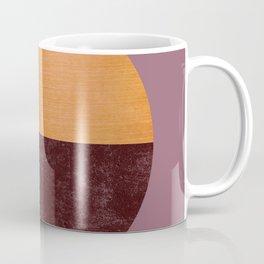 Black and Gold Circle 15 Coffee Mug