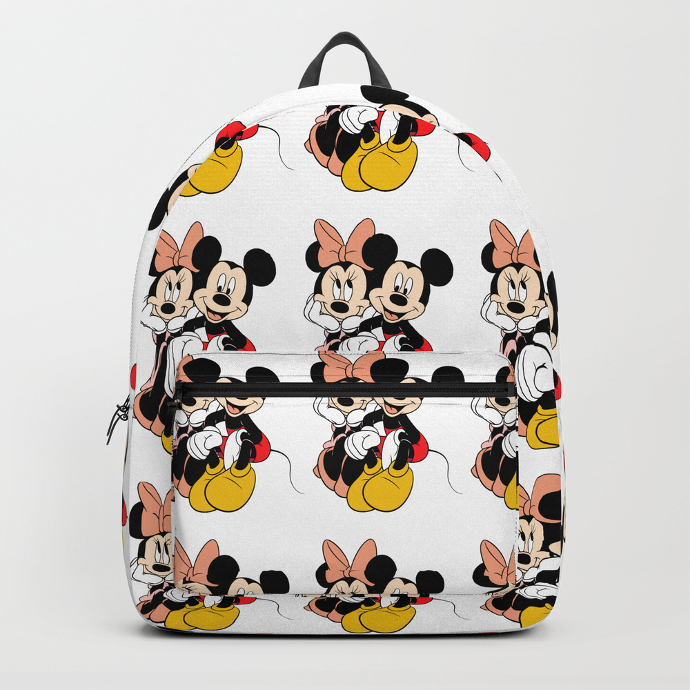 Cartoon Minnie Mickey Mouse Backpack by Maxvision BKP7733624