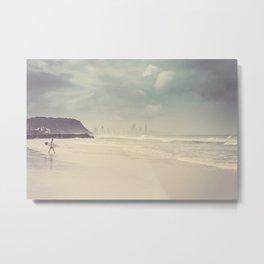 Hawai Surf Spot Metal Print