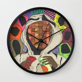 Hoodies Wall Clock