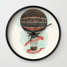 have love, will travel Wall Clock