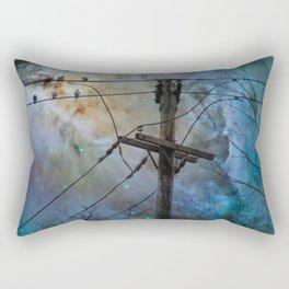 Night Spark Rectangular Pillow